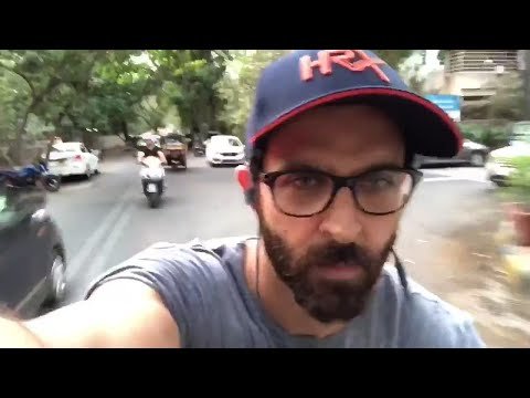 Hrithik Roshan takes up online fitness challenge, gets in