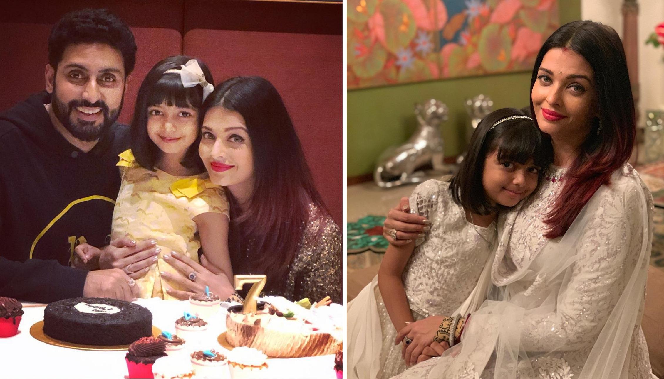 Aishwarya and Abhishek Celebrate Daughter Aaradhya's 8th ...
