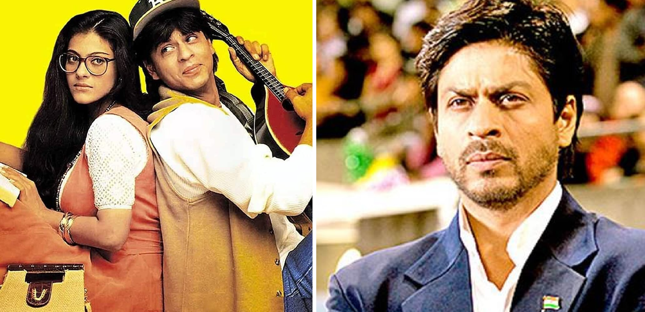 Top 10 Best Films Of Shah Rukh Khan – From Dilwale Dulhaniya Le Jayenge To  Swades